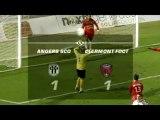 Résumé Angers Clermont Foot 26e journée Ligue 2