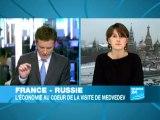 Paris-Moscou, un partenariat économique à vocation militaire