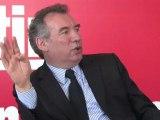 François Bayrou rencontre les lecteurs de Nice Matin 1/2