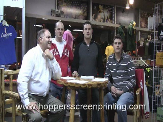 Hoppers Screen Printing in Fond du Lac Wisconsin – General