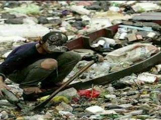 Mortelle Pollution du fleuve Citarum - Indonésie
