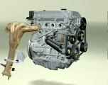 MOTOR  (Ford-Duratec Engine Motor)