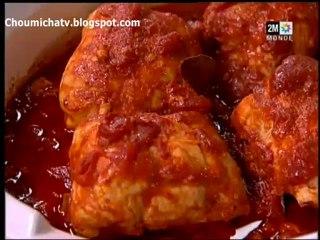 Choumicha - Paupiettes de Poulet et Soupe pois chiche