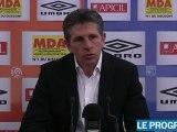 Avant Boulogne/OL : interview de l'entraineur Claude Puel