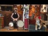 Nico, Djembe et Percussions Africaines de La Clé d'Echanges