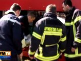 Les pompiers de Total viennent en aide aux sinistrés