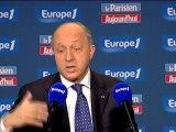 """Fabius-Grèce : """"L'Europe n'avance pas assez"""""""