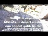 Gold sniping - Gold prospecting - Arizona Prospecting