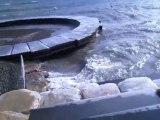 Coup de vent sur le Leman mars 2010