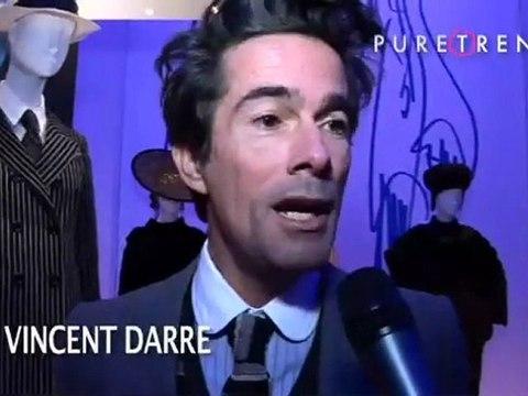 Vernissage de l'exposition Yves Saint Laurent Rétrospective