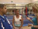 Boxe : la savate à Sèvres avec Héloïse Thouroude