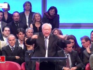 Régionales : Discours de Jean-Claude Gaudin au Dôme