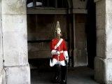 Windsor Guard fait peur aux touristes