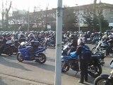 les restos du coeur 13 mars 2010 pays basque depart de motos