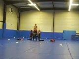 Le Groupe en Gym [ Elodie M, Elodie F, Pamela, Elodie P ]