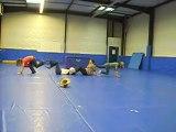 Le GrOupe en Gym [ Elodie D, Coralie, Cindy, Kelly ]