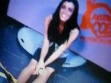 Jenifer dans les coulisses des enfoirés 2010