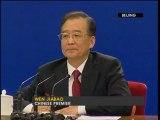 Chinese Premier Wen Jiabao on Dalai Lama