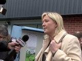 14 Mars 2010 : Marine Le Pen a voté à Hénin-Beaumont