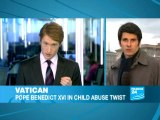 Vatican: Pope Benedict XVI in child abuse twist