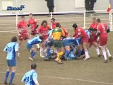 Rugby : Le Racing club retrouve son niveau ! (Strasbourg)