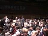 Grand meeting de l'entre-deux-tours à Lyon, Rhône-Alpes