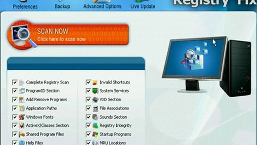 RegistryFix 8 SERIAL KEY - video dailymotion
