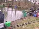 concours de pêche des FFF à Comines