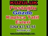Kuzuluk Postoğlu Gözde Kaplıca Tatil Evleri,Kuzuluk kaplıca,