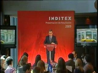 Inditex ganó en 2009 el 5 por ciento más que en el ejercicio