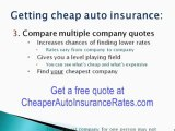 (Free Car Insurance Quotes) How To Get FREE Instant Quotes