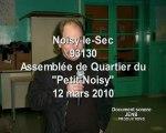 nuisances sonores à Noisy-le-Sec
