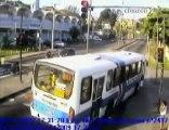 Accident bus, vs auto vs velo  Brazil
