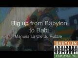 Manusa : Big up from Babylon to Babi