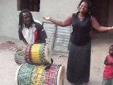 Alpha et Mariama ! Percussion Africaine  Casamance - Sénégal