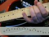 Little jazz blues guitar lick