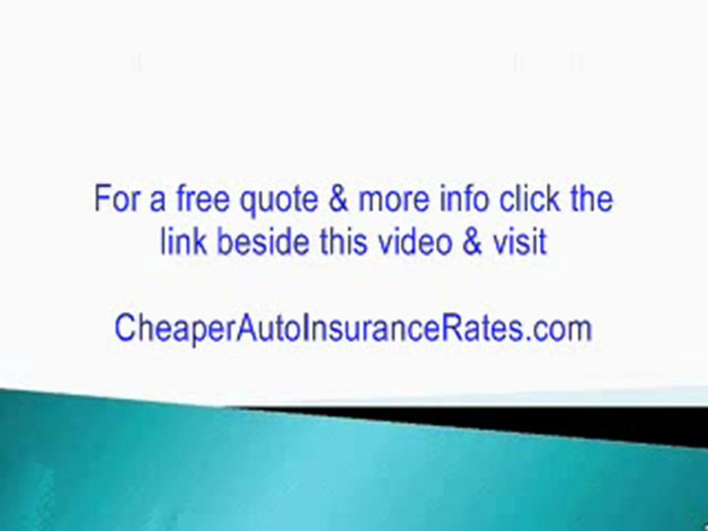 (California Rental Car Insurance) Get *CHEAP* Auto Insurance