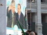 Berlusconi e il Popolo Pdl in piazza