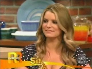 Jessica Simpson Rachael Ray Show 3/22/2010 Part 1