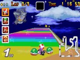 Test de Mario Kart Super Circuit ( GBA )