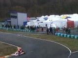 Accident Manche 1 Catégorie Nationale Karting à Autoreille