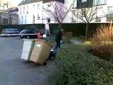 Traction des conteneurs à déchets et à ordures ménagères