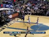 C.J. Miles steals the pass and finishes with an easy slam.