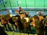 Danse grecque du DK'02 lors du match Beauvais - FC Rouen