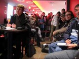 Éric Cantona à Nantes Sautron, le Temple du foot