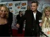 Robbie Williams Brits 2010 Kylie Minogue