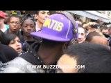 Black M bloqué dans la rue par ses fans Blog_-_Deezer_-_Page Facebook
