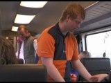 Eindelijk internet op de trein