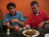Eating Goats Brain