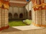Visite virtuelle de l'abbaye de Nieul sur l'Autise